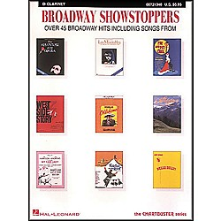 Hal Leonard Broadway Showstoppers For B Flat Clarinet (8721340)