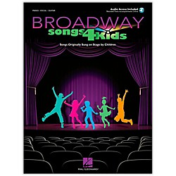 Hal Leonard Broadway Songs for Kids Book/CD (230103)