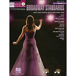 Hal Leonard Broadway Standards - Pro Vocal Songbook & CD For Female Singers Volume 9 (740409)