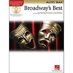 Hal Leonard Broadway's Best For Alto Sax Book/CD (841976)