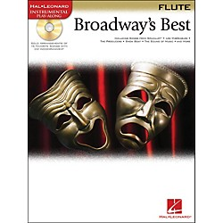 Hal Leonard Broadway's Best For Flute Book/CD (841974)