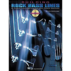 Hal Leonard Building Rock Bass Lines (Book/CD) (695692)