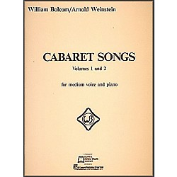 Hal Leonard Cabaret Songs Vol 1 & 2 For Medium Voice And Piano (8273)