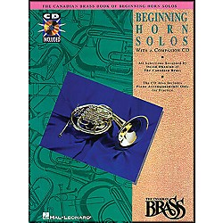 Hal Leonard Canadian Brass Beginning Horn CD Package (841142)
