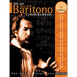 Hal Leonard Cantolopera Arias for Baritone - Volume 1 Book/CD (50484053)