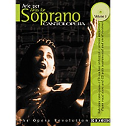 Hal Leonard Cantolopera Arias for Soprano - Volume 1 Book/CD (50484050)