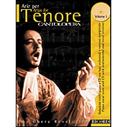 Hal Leonard Cantolopera Arias for Tenor - Volume 1 Book/CD (50484052)