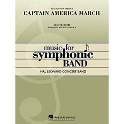 Hal Leonard Captain America March - Hal Leonard Concert Band Series Level 4 (4003138)