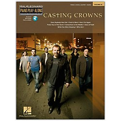 Hal Leonard Casting Crowns Piano Play- Along Volume 65 Book/CD arranged for piano, vocal, and guitar (P/V/G) (311494)