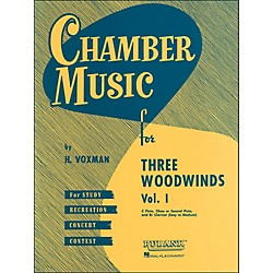 Hal Leonard Chamber Music Series For Three Woodwinds, Vol. 1 Flute, Oboe Or 2nd Flute, And Clarinet (4474580)