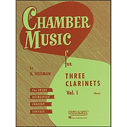 Hal Leonard Chamber Music Series Three Clarinets Vol. 1 (4474550)