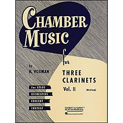 Hal Leonard Chamber Music Series Three Clarinets Vol. 2 (4474560)