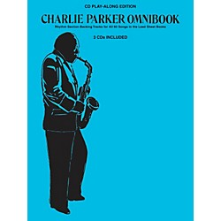 Hal Leonard Charlie Parker Omnibook - CD Play-Along Edition (3-CD Pack) (240535)