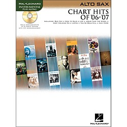 Hal Leonard Chart Hits Of '06-'07 For Alto Sax Book/CD (842199)