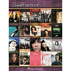 Hal Leonard Chart Hits Of 2008-2009 (Piano, Vocal, and Guitar Songbook) (311865)