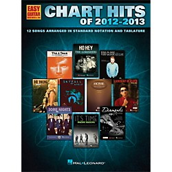 Hal Leonard Chart Hits of 2012-2013 for Easy Guitar Tab (118314)