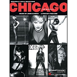 Hal Leonard Chicago - The Broadway Musical Vocal Selections arranged for piano, vocal, and guitar (P/V/G) (312087)