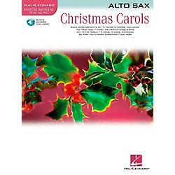 Hal Leonard Christmas Carols For Alto Sax Book/CD (842134)