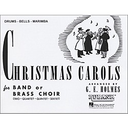 Hal Leonard Christmas Carols For Band Or Brass Choir Drums, Bells, Marimba (4475810)