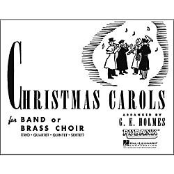 Hal Leonard Christmas Carols For Band Or Brass Choir First B Flat Clarinet (4475550)