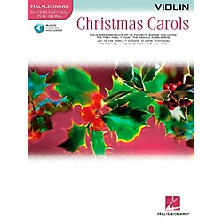 Hal Leonard Christmas Carols For Violin Book/CD (842139)