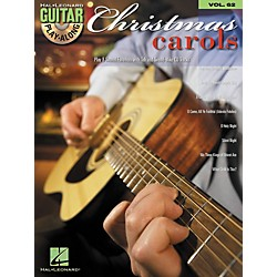 Hal Leonard Christmas Carols Guitar Play-Along Volume 62 Book/CD Set (699798)