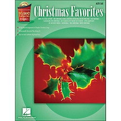 Hal Leonard Christmas Favorites Big Band Play-Along Vol. 5 Alto Sax Book/CD (843118)