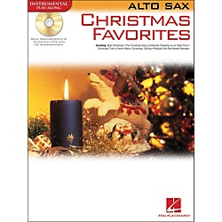 Hal Leonard Christmas Favorites For Alto Sax Book/CD Instrumental Play-Along (841966)