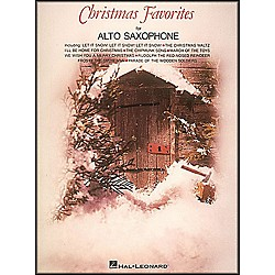 Hal Leonard Christmas Favorites For Alto Saxophone (843373)