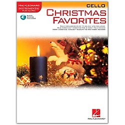 Hal Leonard Christmas Favorites For Cello Book/CD Instrumental Play-Along (841973)