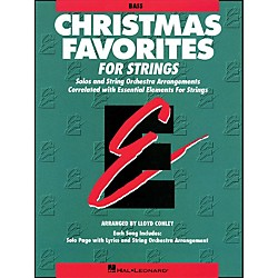 Hal Leonard Christmas Favorites String Bass Essential Elements (868014)
