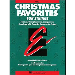 Hal Leonard Christmas Favorites Viola Essential Elements (868012)