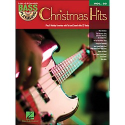 Hal Leonard Christmas Hits - Bass Play-Along Volume 33 Book/CD (701197)