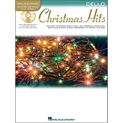 Hal Leonard Christmas Hits For Cello - Instrumental Play-Along Book/CD Pkg (842425)