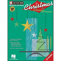 Hal Leonard Christmas Jazz - Jazz Play-Along Book/CD Volume 25 (843018)