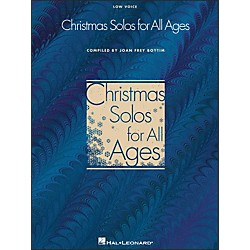 Hal Leonard Christmas Solos For All Ages - Low Voice (740170)