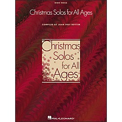Hal Leonard Christmas Solos For All Ages For High Voice (740168)