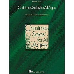 Hal Leonard Christmas Solos For All Ages For Medium Voice (740169)