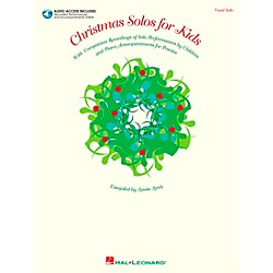 Hal Leonard Christmas Solos For Kids Book/CD (740130)