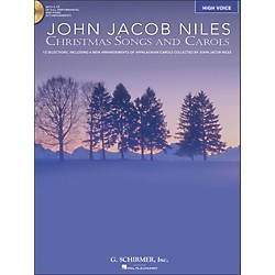 Hal Leonard Christmas Songs And Carols For High Voice Book/CD (50486739)