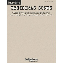 Hal Leonard Christmas Songs Budget Piano, Vocal, Guitar Songbook (310887)