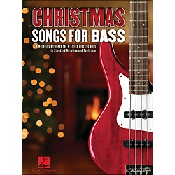Hal Leonard Christmas Songs For Bass (700182)