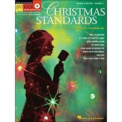Hal Leonard Christmas Standards For Female Singers Pro Vocal Songbook Volume 5 Book/CD (740299)