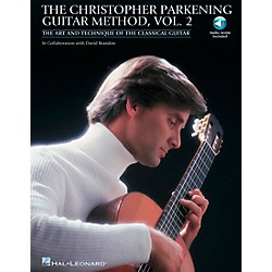 Hal Leonard Christopher Parkening Guitar Method Volume 2 Book/CD (696024)