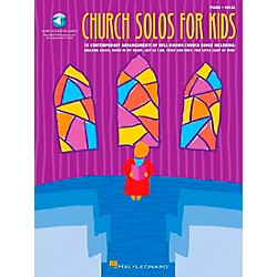 Hal Leonard Church Solos For Kids Book/CD (740080)