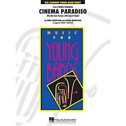 Hal Leonard Cinema Paradiso (Flexible Solo Feature With Band) - Young Band Series Level 3 (4003242)