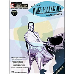 Hal Leonard Classic Duke Ellington Book/CD 10 Jazz Favorites Volume 41 Jazz Play Along (843037)