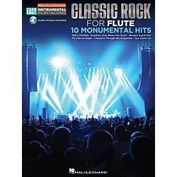 Hal Leonard Classic Rock - Flute - Easy Instrumental Play-Along Book with Online Audio Tracks (122195)