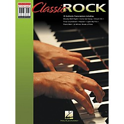 Hal Leonard Classic Rock Note for Note Keyboard Songbook (310940)