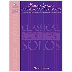 Hal Leonard Classical Contest Solos For Mezzo Soprano Book/CD (740074)
